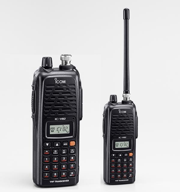 ICOM IC V82 144MHz VHF FM Handheld Transceiver